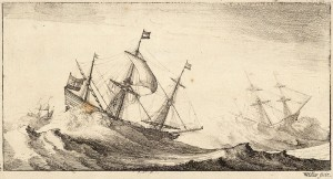Three_ships_in_a_rough_sea