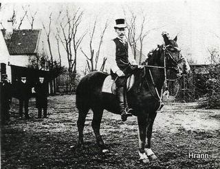 Edward Christensen, fastelavnsridning, Amager.