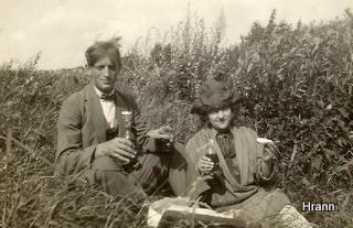 Kunsthandler Henry Køster og kunstmalerinde Nancy (Nanna) Marsby