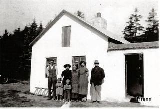 """Andreas hus, """"Skovhuset""""."""